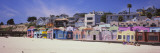 Houses on the Beach, Capitola, Santa Cruz, California, USA Wall Decal by  Panoramic Images