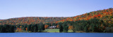 Trees along the Red House Lake, Alleghany State Park, New York, USA Wall Decal by  Panoramic Images