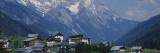 Village on a Landscape and a Mountain Range in the Background, St. Anton, Austria Wall Decal by  Panoramic Images