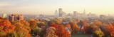 Autumn Trees in a City, Hartford, Connecticut, USA Wall Decal by  Panoramic Images