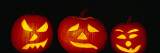 Jack O' Lantern Lit Up at Night, Vermont, New England, USA Wall Decal by  Panoramic Images