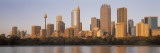 Urban Skyline at Dawn, New South Wales, Sydney, Australia Wall Decal by  Panoramic Images