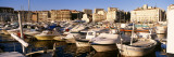 Old Port, Marseille, France Muursticker van Panoramic Images