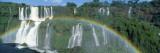 Rainbow, Iguacu Falls, Iguacu National Park, Brazil Wall Decal by  Panoramic Images