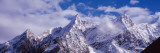Manaslu Trek, Larkya Pass, Himal, Low Angle View of Snow Covered Peaks, Nepal Wall Decal by  Panoramic Images