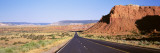 Rock Formation at a Roadside, Route 84, Abiquiu, New Mexico, USA Wall Decal by  Panoramic Images