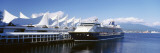 Cruise Ship Docked at a Harbor, Vancouver, British Columbia, Canada Wall Decal by  Panoramic Images