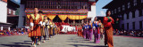 Folk Dancers in a Festival, Thimphu Tshechu, Thimphu Bhutan Wall Decal by  Panoramic Images
