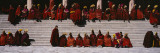 Monks Celebrating New Year, Tongren County, Qinghai Province, China Wall Decal by  Panoramic Images