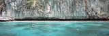 High Angle View of Three People Snorkeling, Phi Phi Islands, Thailand Wall Decal by  Panoramic Images