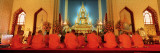 Monks, Benchamapophit Wat, Bangkok, Thailand Wall Decal by  Panoramic Images