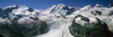 Snow Covered Mountain Range with a Glacier, Matterhorn, Switzerland Wall Decal by  Panoramic Images