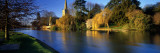 Church on a Riverbank, River Avon, England, United Kingdom Wall Decal by  Panoramic Images