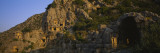 Tombs on a Cliff, Lycian Rock Tomb, Antalya, Turkey Wall Decal by Panoramic Images