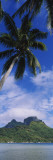 Clouds over a Mountain, Bora Bora, French Polynesia Wall Decal by  Panoramic Images