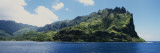 Clouds over an Island, Omoa Village, Fatu Hiva Island, Marquesas Islands, French Polynesia Wall Decal by  Panoramic Images