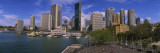Buildings on the Waterfront, Sydney, Australia Wall Decal by  Panoramic Images
