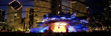 Pritzker Pavilion, Millennium Park, Chicago, Illinois, USA Wall Decal by  Panoramic Images