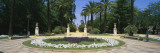 Flowers in a Garden, Murillo Gardens, Seville, Spain Wall Decal by  Panoramic Images