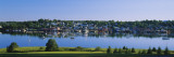 Reflection of Boats in Water, Lunenburg, Nova Scotia, Canada Wall Decal by  Panoramic Images