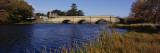 Bridge Across a River, Macquarie River, Tasmania, Australia Wall Decal by  Panoramic Images