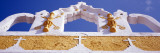 Church Detail, Yellow City, Izamal, Yucatan, Mexico Wall Decal by  Panoramic Images