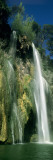 Low Angle View of a Waterfall, Sillans Waterfall, Provence, France Veggoverføringsbilde av Panoramic Images,