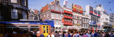 Rembrandt Square, Crowd Standing at Town Square, Amsterdam, Netherlands Wall Decal by  Panoramic Images
