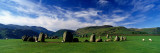 Sheep's Grazing in a Pasture, Castlerigg Stone Circle, Keswick, Lake District, Cumbria, England, UK Wall Decal by  Panoramic Images