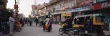 Road Passing Through a Market, Bikaner, Rajasthan, India Wall Decal by Panoramic Images