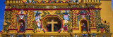 Mural on the Wall of a Church, San Andres Xecul, Guatemala Wall Decal by  Panoramic Images