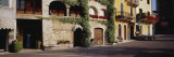 Houses at a Road Side, Torri del Benaco, Italy Wall Decal by  Panoramic Images
