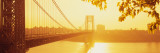 Bridge Across the River, George Washington Bridge, New York, USA Wall Decal by  Panoramic Images