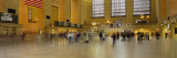 Group of People Walking in a Station, Grand Central Station, Manhattan, New York, USA Wall Decal by  Panoramic Images