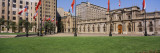 Facade of a Palace, Plaza de la Moneda, Santiago, Chile Wall Decal by  Panoramic Images