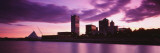 Milwaukee Art Museum at Dusk, Milwaukee, Wisconsin, USA Wall Decal by Panoramic Images