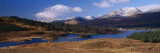 Lake on Mountainside, Loch Tulla, Rannoch Moor, Argyll, Scotland Wall Decal by  Panoramic Images