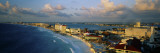 Hotels and Resorts on the Beach, Cancun, Mexico Wall Decal by  Panoramic Images