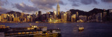 Wan Chai and Causeway Bay, Hong Kong Wall Decal by  Panoramic Images
