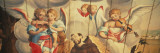 Mural of Angels and a Saint on the Wall of a Church, Assis Church, Mariana, Minas Gerais, Brazil Wall Decal by  Panoramic Images