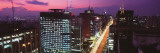 Paulista Avenue in the Evening, Sao Paulo, Brazil Wall Decal by  Panoramic Images