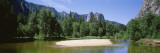 Sandbar in Merced River, Yosemite National Park, California, USA Wall Decal by  Panoramic Images
