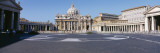Facade of a Church, St. Peter's Basilica, St. Peter's Square, Vatican City, Italy Wall Decal by  Panoramic Images