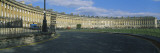 Buildings along a Road, Royal Crescent, Bath, Avon, England wandtattoos von Panoramic Images 
