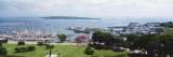 Harbor, Mackinac Island, Michigan, USA Wallstickers af Panoramic Images,