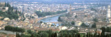 High Angle View of a City, Verona, Veneto, Italy Wall Decal by  Panoramic Images