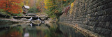 Watermill in a Forest, Glade Creek Grist Mill, Babcock State Park, West Virginia, USA Wall Decal by  Panoramic Images