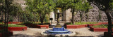 Fountain in Hacienda San Gabriel de Barrera, Guanajuato, Guanajuato State, Mexico Wall Decal by  Panoramic Images