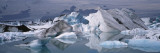 Glacier Floating on Water, Vatnajokull Glacier, Iceland Wall Decal by  Panoramic Images