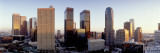 Skyline of the City, Los Angeles, California, USA Wall Decal by Panoramic Images 
